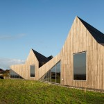 Sand dune-inspired kindergarten completed by Dorte Mandrup beside a Swedish beach