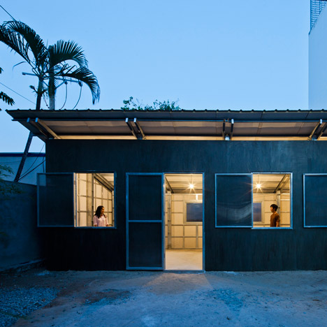 "Vo Trong Nghia's latest low-cost house is ""stable enough to withstand natural disasters"""