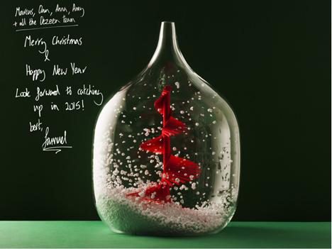 Designer Christmas cards 2014