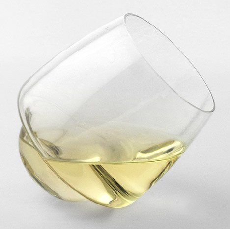 Saturn Wine Glasses by Superduperstudio