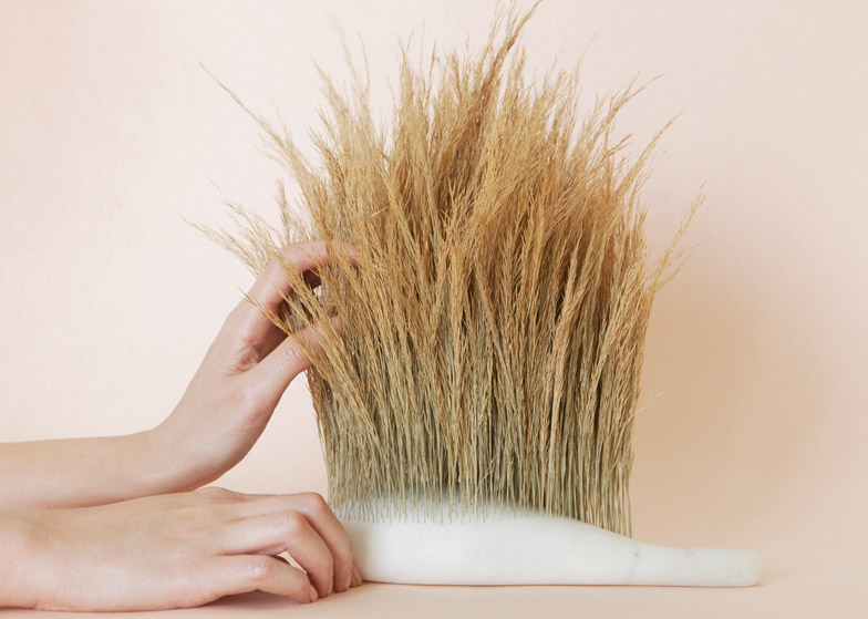 Sensorial Brushes by Najla El Zein
