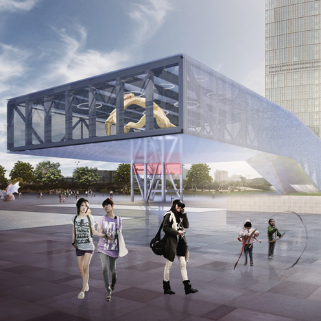 OMA scoops Shanghai exhibition centre competition