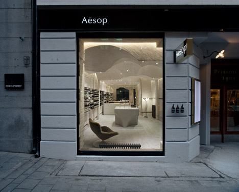 Oslo Aesop store by Snøhetta