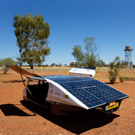 Stella, a solar-powered car by Solar Team Eindhoven