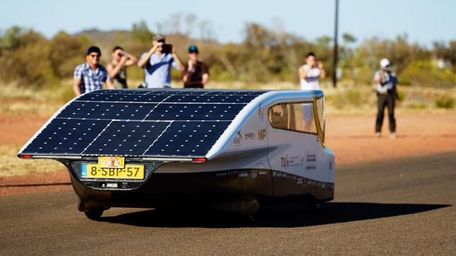 Stella, a solar-powered car by Solar Team Eindhoven