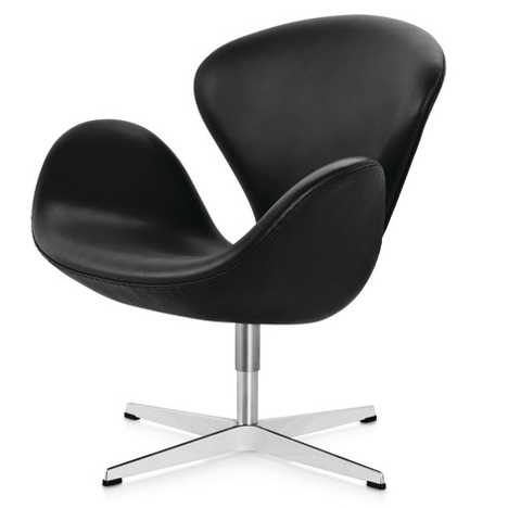 Dezeen's A-Zdvent calendar: Swan Chair by Arne Jacobsen