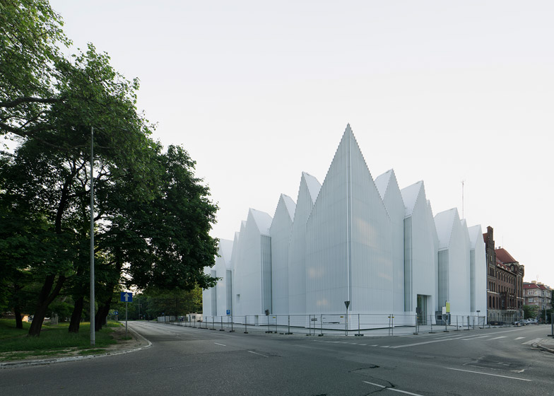 Szczecin Philharmonic by Barozzi Veiga