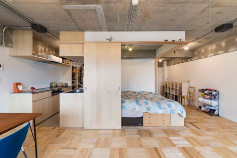 Tsukiji Room H by Yuichi Yoshida & Associates