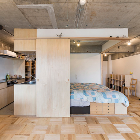 Japanese apartment design home design for Apartment interior design japan