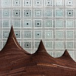 Kilo pitches giant camel-hair tent outside Jean Nouvel's Institut du Monde Arabe in Paris