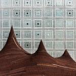 Kilo pitches giant camel-hair tent outside Jean Nouvel's Institut du Monde Arabe in Paris