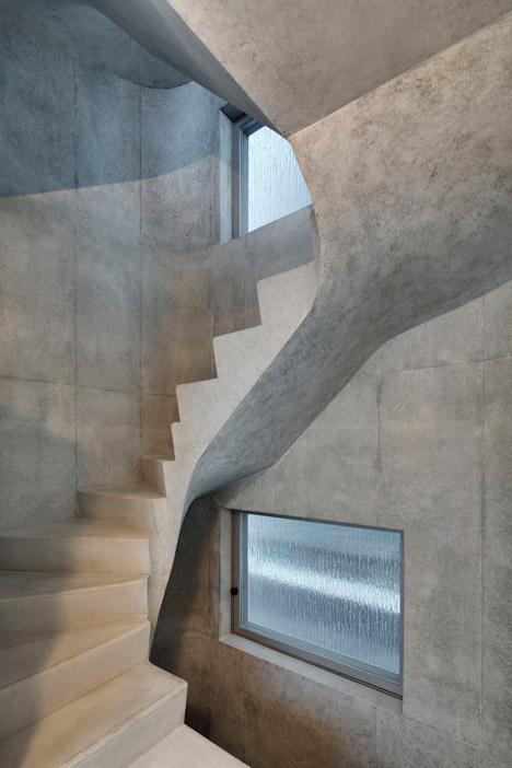 The A' House in Tokyo by Wiel Arets