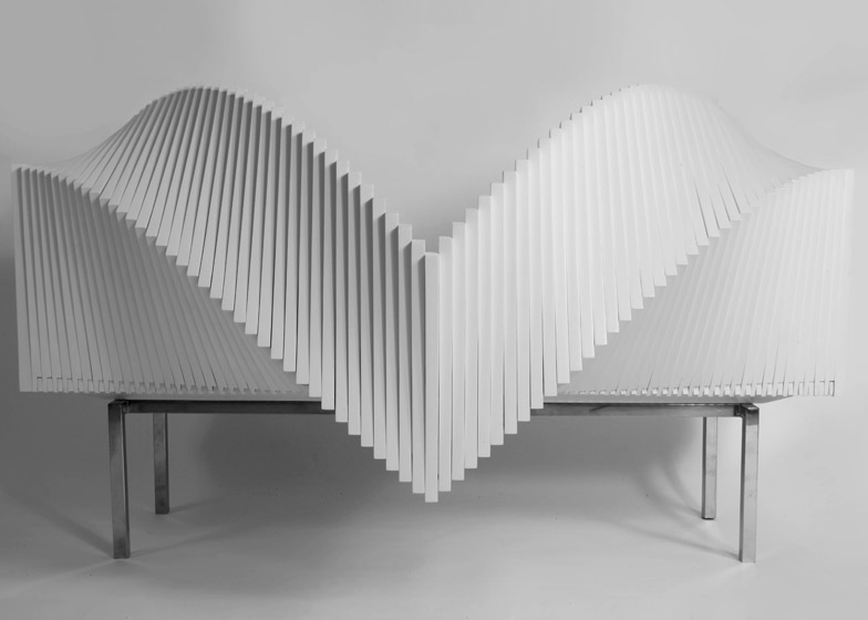 The Wave cabinet by Sebastian Errazuriz