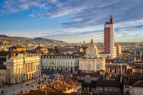 Turin. Image courtesy of Shutterstock