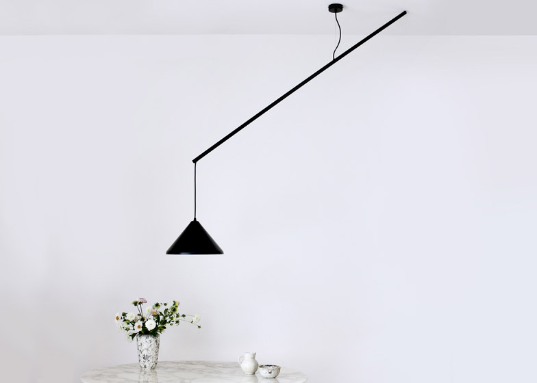 Umleiter lamp by Veronika Gombert
