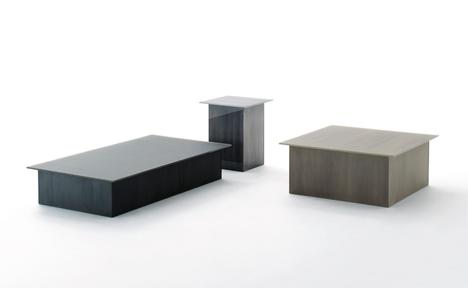 Brushstroke collection by Nendo for Glas Italia