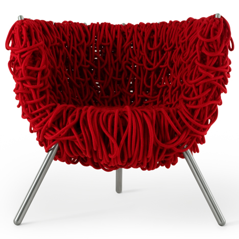 Vermelha chair by the Campana Brothers