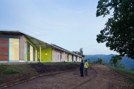 Village Health Housing in Birundi Africa by Louise Braverman