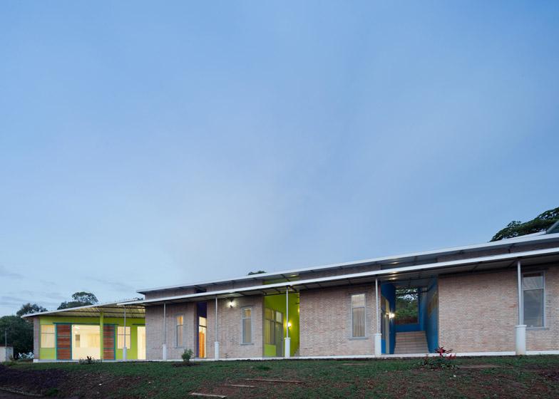 Village Health Housing in Birundi Africa by Louise Braverman