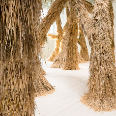"Campana brothers bring ""nature indoors"" with bristly installation"