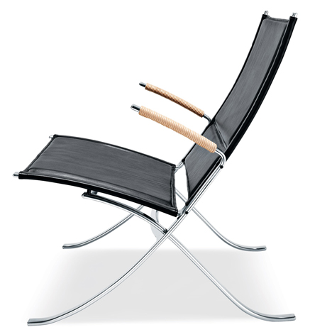 X Chair by Preben Fabricius and Jorgen Kastholm