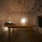 Naoya Matsumoto Design uses crumpled paper to create grotto-like bar in Osaka