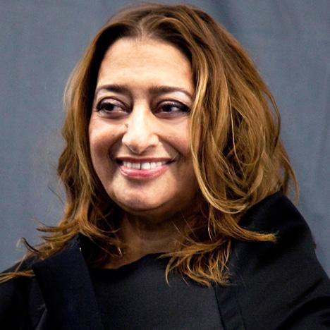Zaha Hadid portrait by Giovanna Silva