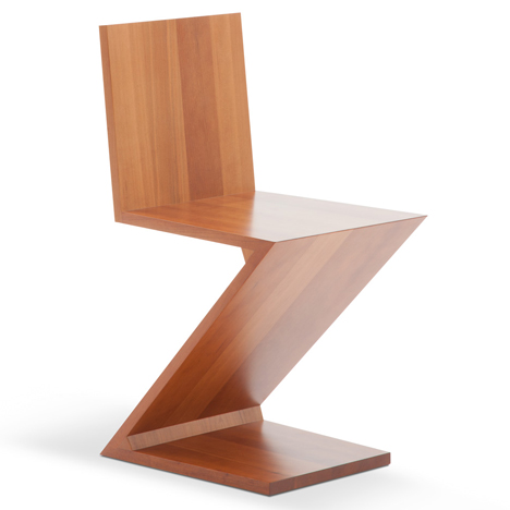 Zig-Zag Chair by Gerrit Rietveld