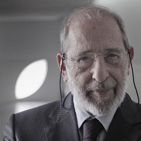 Alvaro Siza portrait by Fernando Guerra