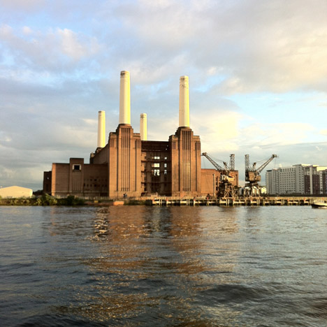 Bjarke Ingels could turn Battersea Power Station's chimneys into sparking Tesla coils