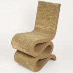 Dezeen's A-Zdvent calendar: Wiggle Chair by Frank Gehry