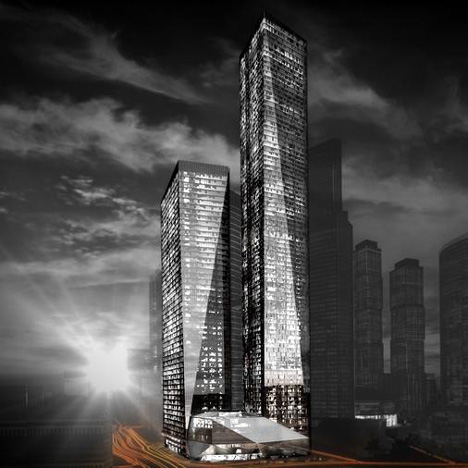 OKO, South Tower, Russia, by SOM