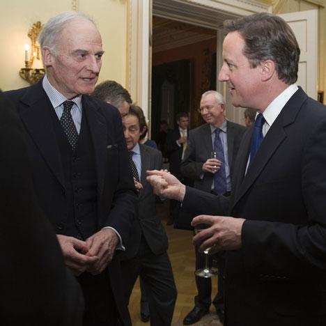 Quinlan Terry and David Cameron