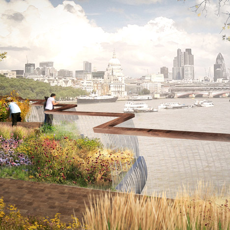 Thomas Heatherwick's Garden Bridge given green light