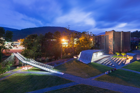 Smith Creek Park at Virginia Tech USA by design buildLAB