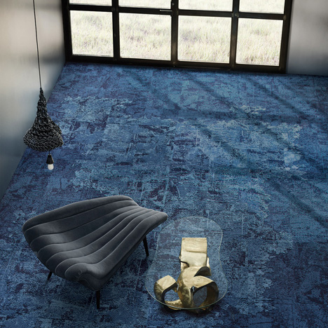 Net Effect carpet tile by David Oakey