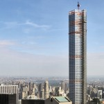 Work resumes on Viñoly's 432 Park Avenue tower after complaint of falling debris