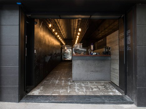 A comic book fanatic's caffeine cave near Central Station by Nettleton Architects