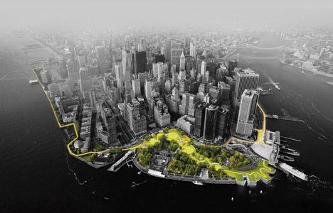 The BIG U; New York City, by BIG