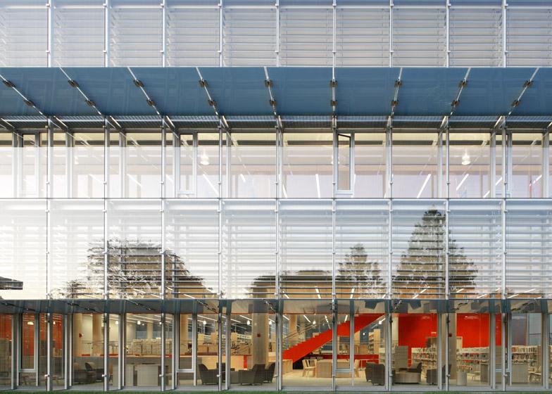 Cambridge Public Library; Cambridge, Massachusetts, by William Rawn Associates
