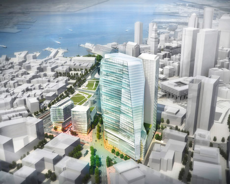 Government Center Garage Redevelopment; Boston, by CBT Architects