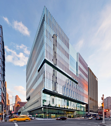 John Jay College of Criminal Justice; New York City, by SOM