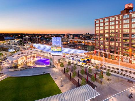 Target Field Station; Minneapolis, by Perkins Eastman