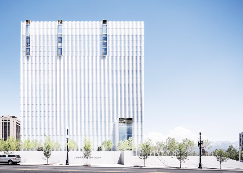 United States Courthouse; Salt Lake City, Utah, by Thomas Phifer and Partners, and Naylor Wentworth Lund Architects