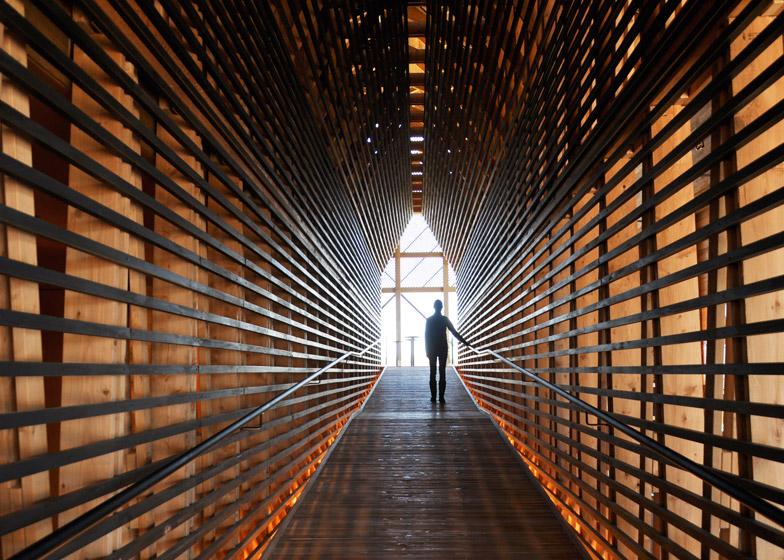 Wild Turkey Bourbon Visitor Center; Lawrenceburg, Kentucky, by De Leon & Primmer Architecture Workshop