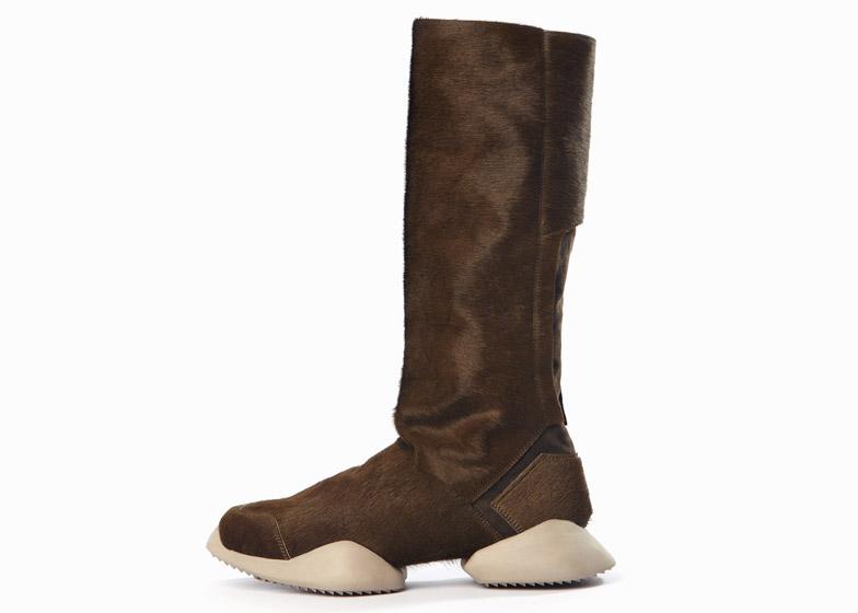 4b5ab8cc243 Rick Owens extends footwear range for Adidas