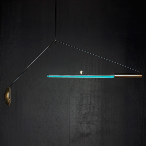 "Teresa van Dongen's bioluminescent lamp is ""a new way to create light"""