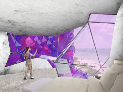 Amethyst Hotel by NL Architects