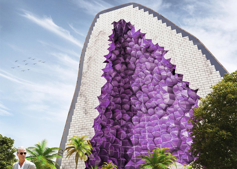 Amethyst Hotel by NL Architects