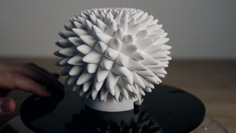 Animorph 3D-printed illusions by John Edmark